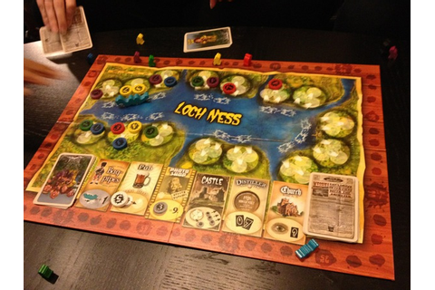 Layne's Thrifty Finds: Review: Loch Ness Board Game
