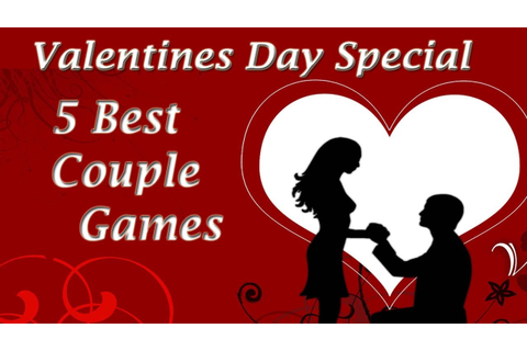 5 Couple Games Valentines Day Kitty Party - YouTube