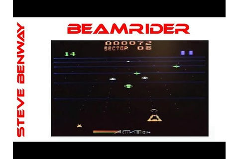 Beamrider on the Atari 2600. Gameplay & Commentary. - YouTube