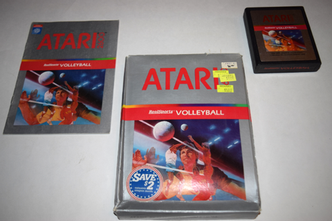 RealSports Volleyball Atari 2600 Video Game Complete in ...