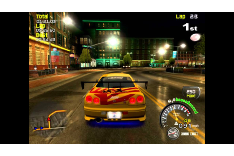 Street Racing Syndicate Gameplay Pc