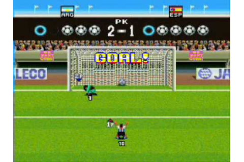 Super Goal 2! (SNES) - Penalty Game - YouTube
