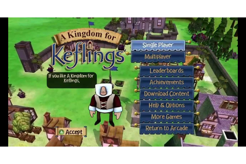 games: A Kingdom for Keflings