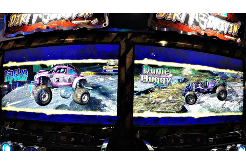 Dirty Drivin' Arcade Racing Game: Dave & Buster's Arcade ...
