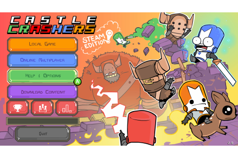 Download Castle Crashers Full PC Game