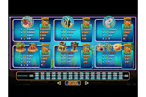 Megaquarium slot review from Real Time Gaming