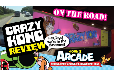 Crazy Kong Arcade Game Review - Falcon - Zaccaria - 1981 ...