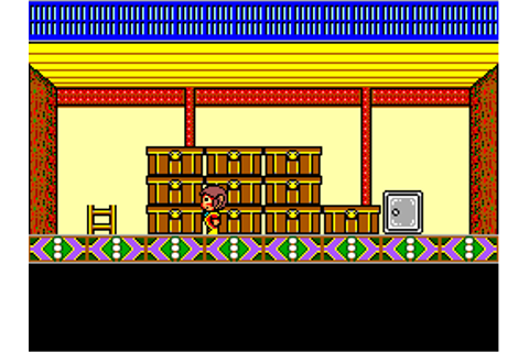 Alex Kidd - High-Tech World (USA, Europe) ROM