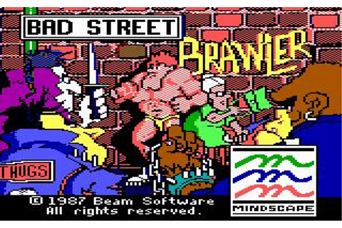Bad Street Brawler Download (1987 Arcade action Game)