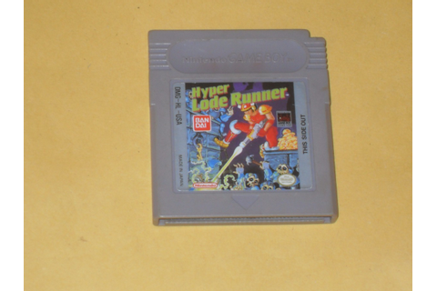 Hyper Lode Runner Game Boy Gb Gameboy - $ 150.00 en ...