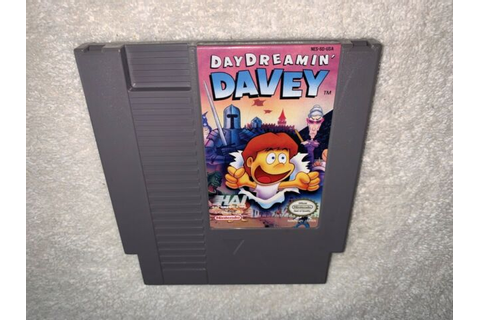 Day Dreamin' Davey (Nintendo Entertainment System, 1992 ...