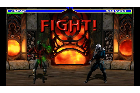 Mortal Kombat Gold (Remake) Beta - Ermac Gameplay - YouTube