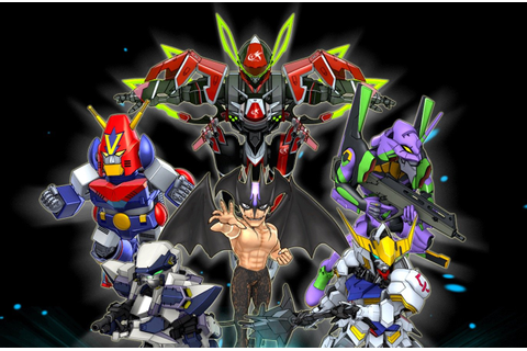 'Super Robot Wars DD' Announced For iOS And Android In ...