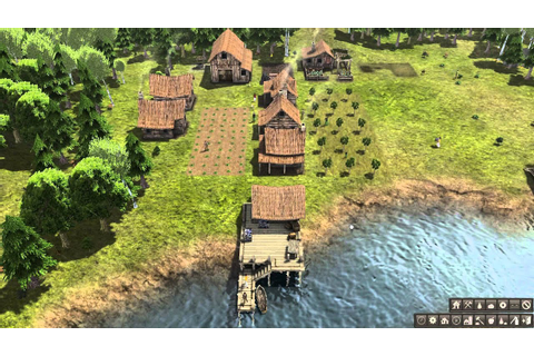 Banished PC game play - YouTube
