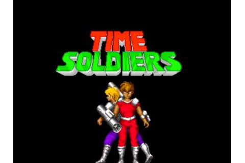 Time Soldiers (Arcade Music) 01 Coin - YouTube