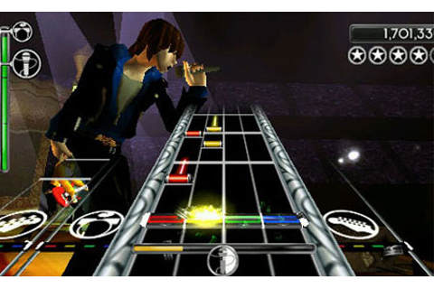 super games arcade: ROCK BAND UNPLUGGED
