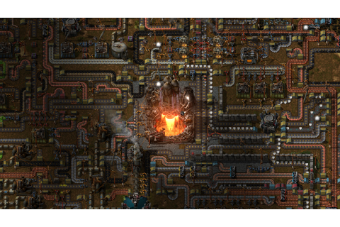 See what a Factorio factory looks like after 500 hours of ...