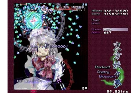 Touhou 7 Perfect Cherry Blossom Free Download PC Game ...