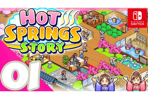 Hot Springs Story [Switch] - First 30 Minutes of Gameplay ...