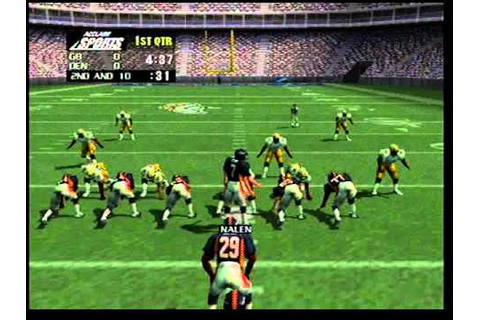 Nintendo 64 NFL Quarterback Club 99 Game (Intro) - YouTube