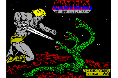 Masters of the Universe - The Arcade Game (1986) by U.S ...