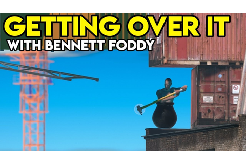 WRIST PAIN | Getting Over It With Bennett Foddy Gameplay ...