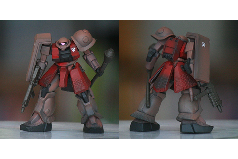 Gundanium Gateway: Ultimate Operation : MS-06S Char's Zaku ...