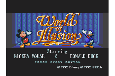 Mickey Mouse - World of Illusion Download Game | GameFabrique