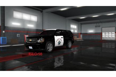 ETS2 - Highway Patrol Skin For Chevrolet Tahoe 2007 V1 (1 ...