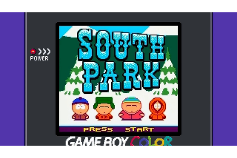 Cancelled South Park GBC Game - World 1: Road to School ...