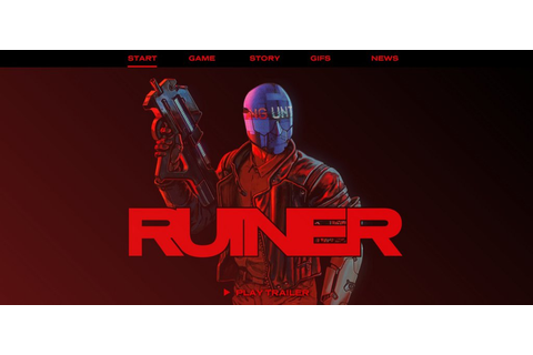 RUINER GAME | Web Design Inspiration – interactive story ...