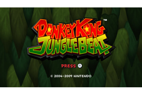 Donkey Kong: Jungle Beat Screenshots for Wii - MobyGames