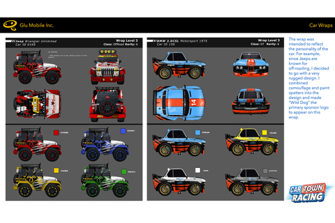 Car Town Racing: Game Art on Behance