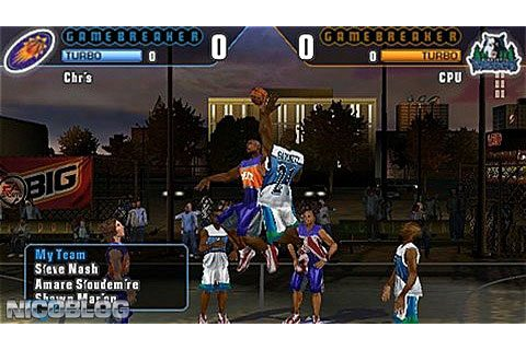NBA Street Showdown (USA) PSP ISO | Cdromance