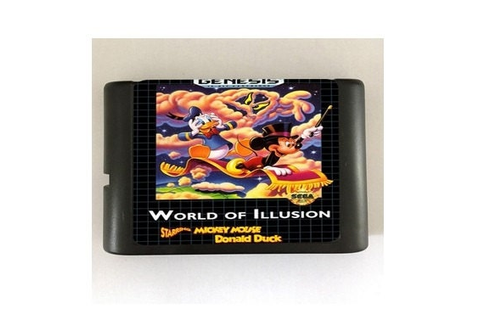 World of Illusion 16-Bit Sega Genesis Mega Drive Game by ...
