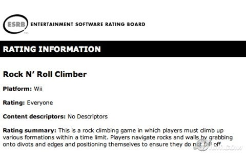 Rock n' Roll Climber for Wii - Wii - Giant Bomb