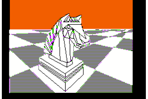 Colossus Chess 4 (1986) by CDS Software Apple II E game