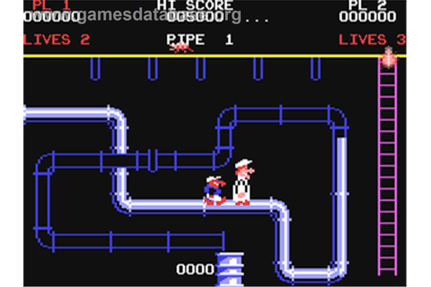 Super Pipeline - Commodore 64 - Games Database