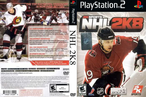 HW Video Game Week: NHL 2K8 - Hockey Wilderness