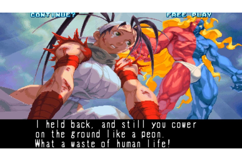 Street Fighter III New Generation: Ibuki playthrough ...