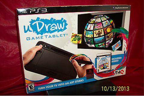 Brand New - PS3 Udraw Game &Tablet - Open box - Game sealed