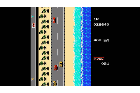 Road Fighter (1991) [NES Longplay] - YouTube