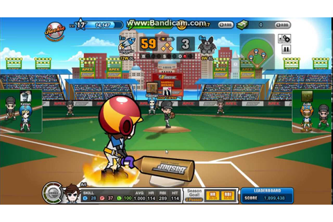 Baseball Heroes Master Home Run - YouTube