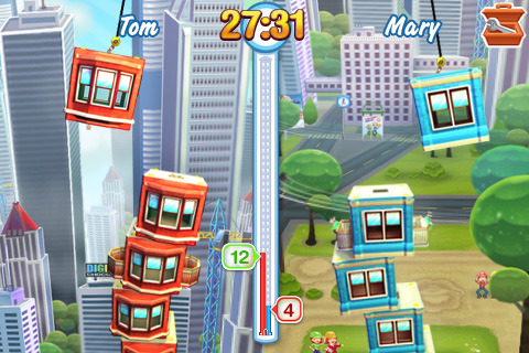 Free Mobile Games: free Tower Bloxx game for Nokia X6