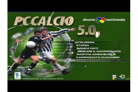 PC Calcio 5 gameplay (PC Game, 1996) - YouTube