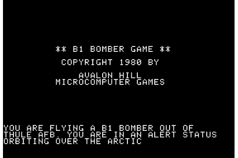 Download B-1 Nuclear Bomber - My Abandonware