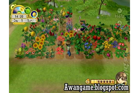Harvest Moon Tree of Tranquility Download Wii Game ...