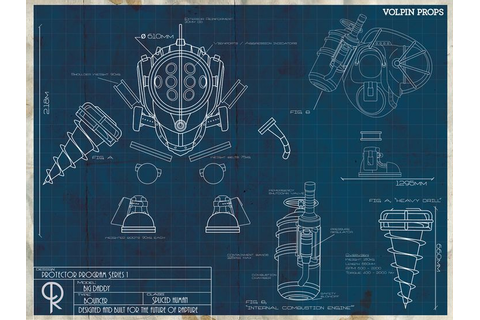 Big Daddy Blueprint by Volpin Props | Blueprints ...
