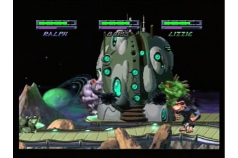 RAMPAGE THROUGH TIME - 2 PLAYER (PLAYSTATION) - YouTube