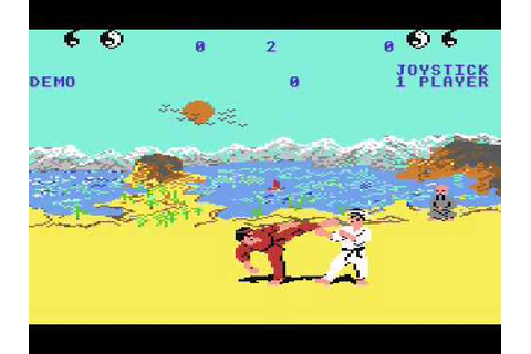 Way of the Exploding Fist C64 Music - YouTube
